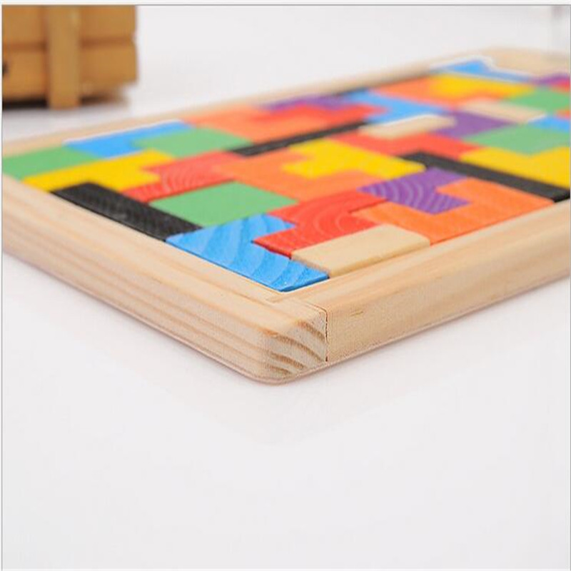 2019 NEW High quality 3D puzzle toy Russian square game building parent child game toy suit for children in Blocks from Toys Hobbies