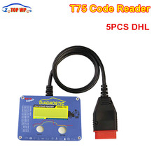 5PCS DHL Free Shipping Technical Auto parts T75 Code Readert75 for Vo-lvo OBD2 Code Scanner tool With Good Quality Motorcycle