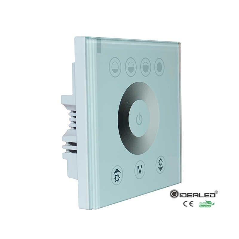 Регулирование яркости панели с тачпадом, драйвер для светодиодной ленты Светодиодные панели и трубки света, входной DC12V-24V 2 шт./упак.