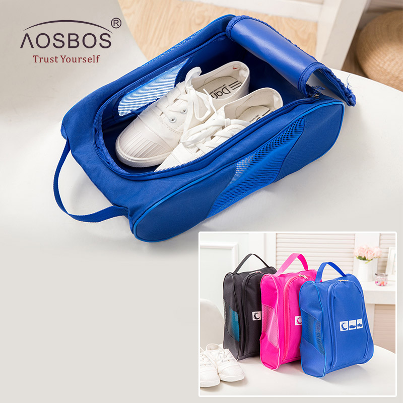 Travel Shoe Bag Waterproof Oxford With Zipper for Men and Women