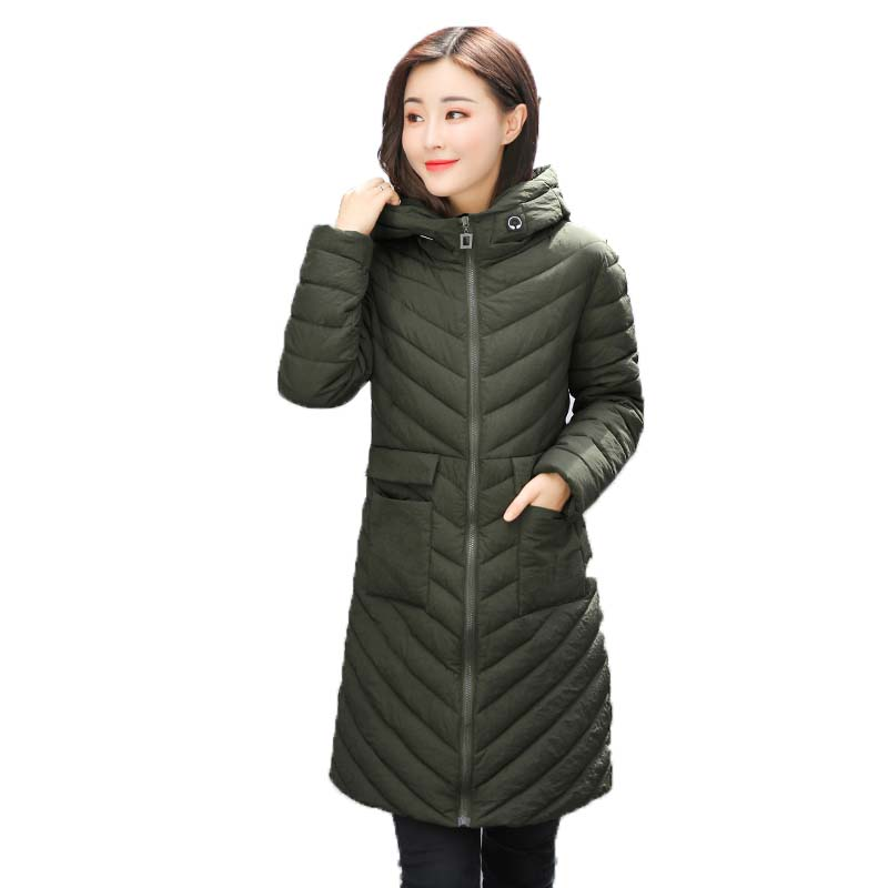 2017 Hot Sale Time-limited Womens Winter Jackets And Coats Winter Jacket Women 's Cotton Coat Long Hooded Pure Color Leisure 2015 time limited rushed coat jacket fruit tea pure natural fresh dried lotus leaf to lose belly slimming plants oem processing
