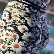 High Waist Flower Print Leggings