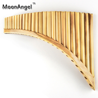 Reed 25 Pipes Pan Flute New Arrival G Key Pan Pipes Handmade Woodwind Musical Instruments High Quality Chinese Flauta