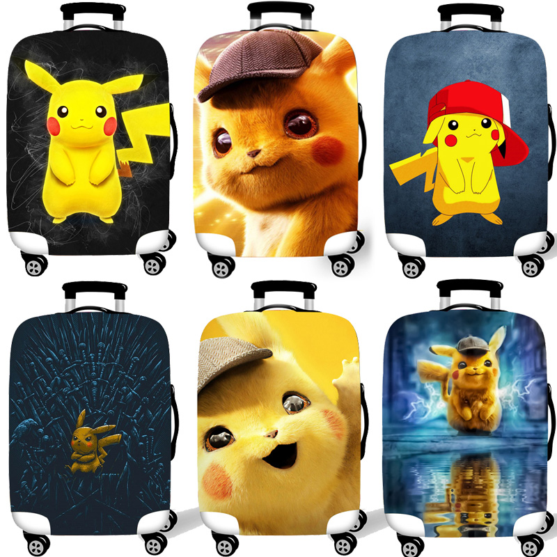 Protective-Cover-Case Cases Covers Travel-Accessories Elastic-Luggage Trolley Detective