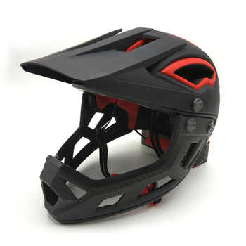 Adults Trainer Full Face Flip Up Racing Bicycle Helmet Downhill DH Fullface Motorcycle Avt MTB Mountain Safety Cycling Helmet - DISCOUNT ITEM  8% OFF All Category