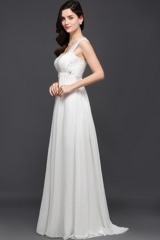 robe de mariee wedding dress simple 2018 vestido de noiva Chiffon ...