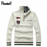Top Brand 2014 Autumn Winter Men S Fashion Casual Sweaters 100 Wool Thickening Sweaters Men Mandarin