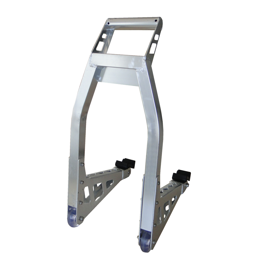 Swing Arm Motorcycle Lift : Motorcycle front stand spool swingarm lift in car jacks
