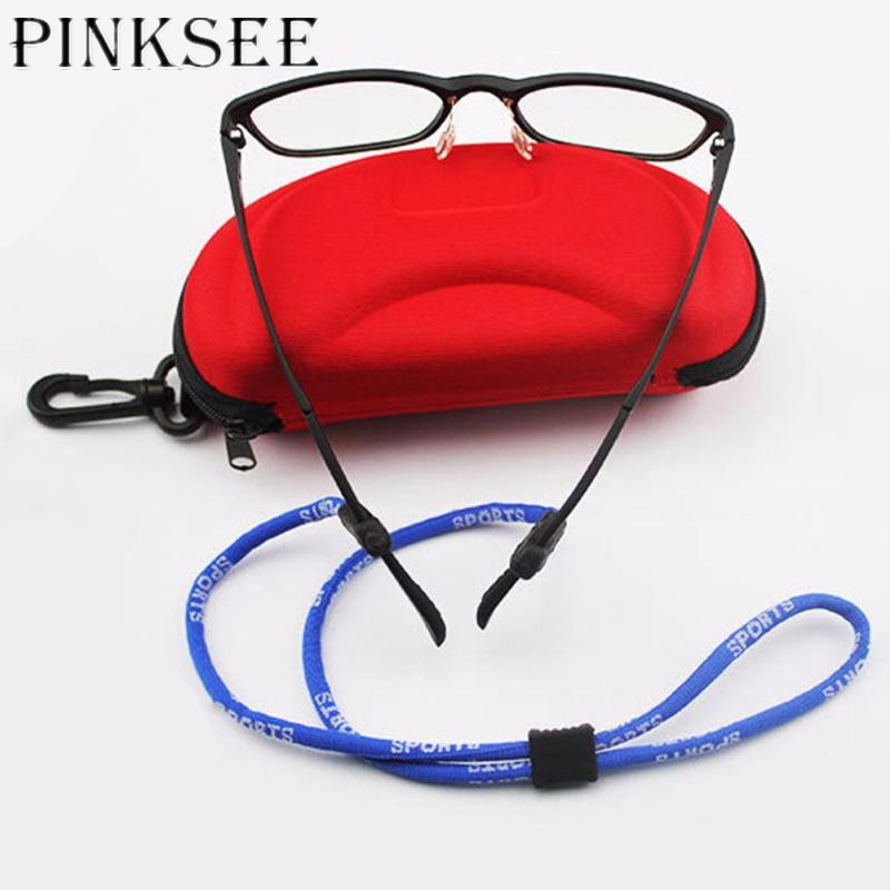 Sunglass Neck Strap Eyeglass Cord Lanyard Holder Retainer String Red Adjust New
