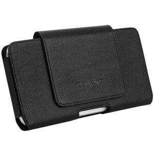Image 5 - QIALINO mode affaires Style téléphone sac couverture pour Apple pour iPhone X luxe en cuir véritable Simple étui pour iPhone 5.8