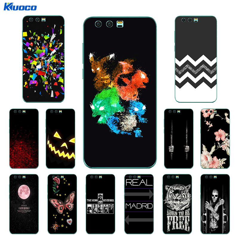 for Huawei Honor 9 Case 5.15 inch Character Printing TPU Case Cover for Huawei Honor 9 Silicone Phone Back Cover Skin