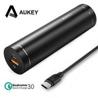 AUKEY 5000mAh Power Bank Quick Charge 3 0 Powerbank Portable External Battery Mobile Fast Usb Charger