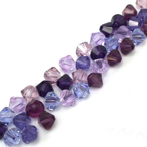 10 14mm Czech Glass Lavender Purple Bronze Dahlia Flower Coin Beads