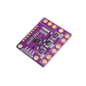 Image 2 - INA3221 derivación de Triple canal fuente de alimentación de corriente placa del Monitor de voltaje Módulo de Sensor reemplazar INA219 con pines I2C SMBUS INA3221