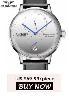 √GUANQIN для мужчин часы лучший бренд класса люкс ...