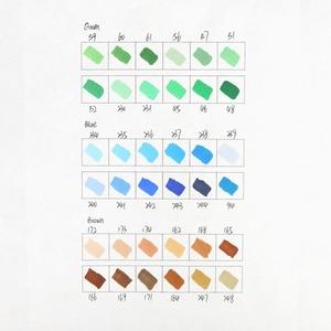 Image 5 - Finecolour EF100 çift başlı alkol mürekkep kroki Marker kalem seti Manga çizim sanat belirteçleri