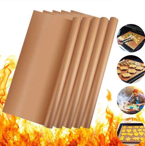 5 Pcs Nonstick Reusable Kitchen Copper Chef Grill And Bake