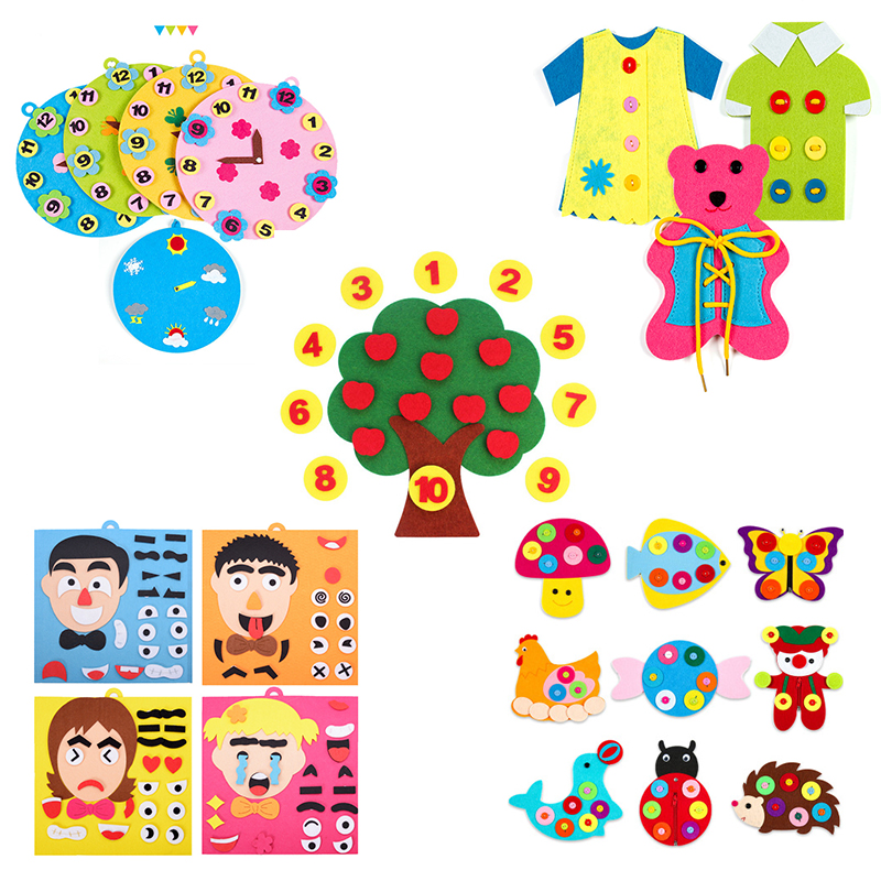 Infant Montessori Educational Toys For Children Learning Education Creativity Developing Kids Gift Foam Brinquedos Educativos