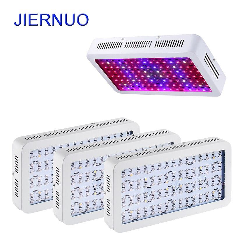 4 stücke Großhandel Gesamte Spektrum 1200 Watt Doppel Chip LED Wachsen Licht rot Blau Weiß UV IR Für hydrokultur und zimmerpflanzen BJ