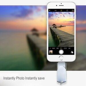 Image 2 - Novel Lightning USB Flash Drive 256 GB 128 GB Pendrive Memory Stick Voor iPhone USB Flash Pen Drives U Stok voor iPad iPod