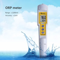 High Quality Pen Type Digital ORP Meter Waterproof Handheld Redox Potential Tester With Temperature Display Water Control Tester