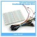 750-point Эксперимент Макет с помощью Перемычек для arduino Uno r3, мега 2560, из-за, raspberry pi комплекты
