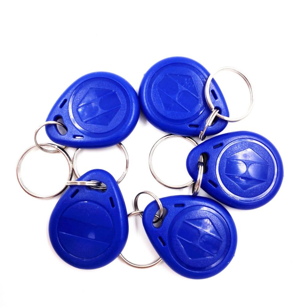 T5557 5577 Contactless Proximity Identification rfid Keychain keyfob Blue