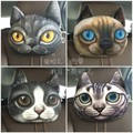 Lovely 3D Cat Car Headrest Head auto Pillow Inside Seat Neck Rest car seat Creative Car Neck Pillow Soft Auto Head Headrest