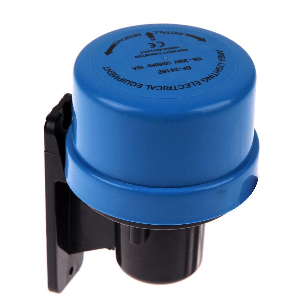 AC105-305V Light Sensor Switch Worldwide Photocell Timer Light Switch Daylight Dusk Till Dawn Auto Light Switch Energy Saving 16