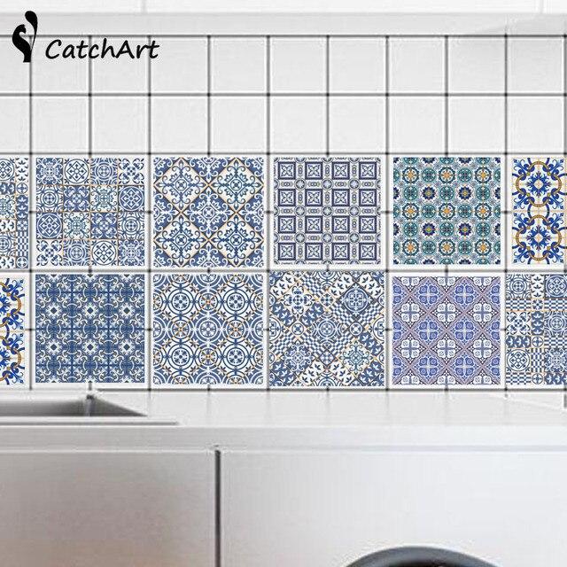 Personalizada pvc etiqueta de la pared ba o cocina for Pegatinas azulejos cocina