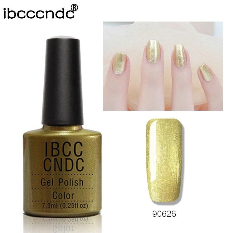 Marca IBCCCNDC Nail Art Gel Polish 7.3 ml Soak Off 79 Color Barniz de - Arte de uñas