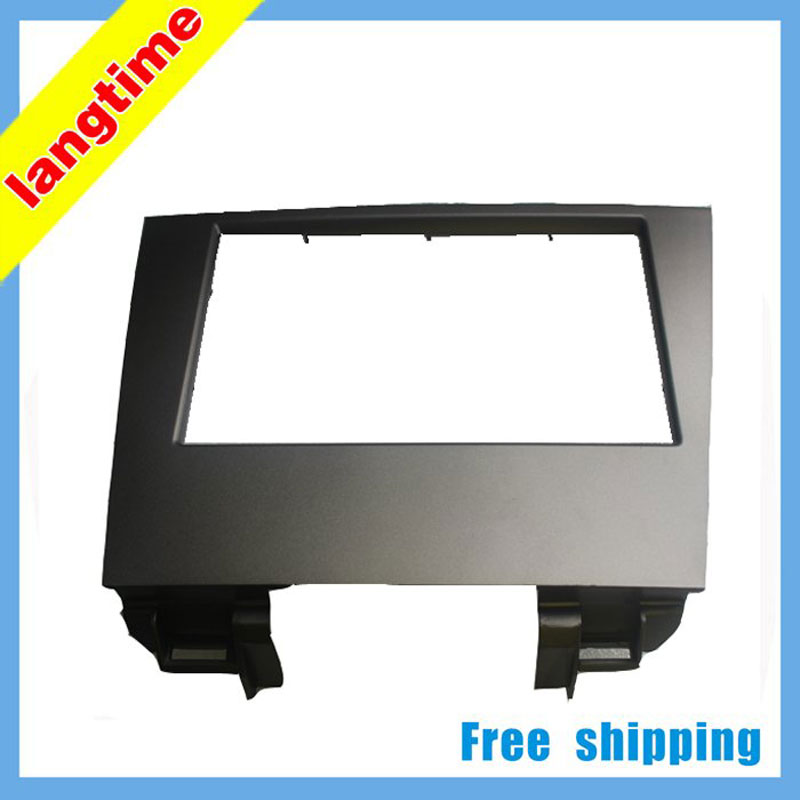 Free shipping Car refitting DVD frame DVD panel Dash Kit Fascia Radio Frame Audio frame for 08 LEXUS es350(seperate) 2DIN|dvd frame|radio frame|dash kit - title=