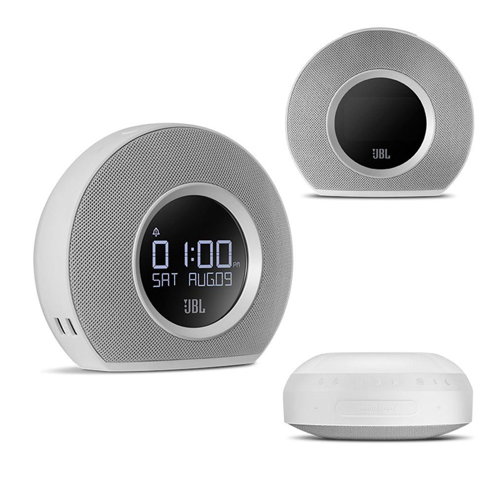 JBL Horizon Bluetooth Wireless Lautsprecher Wecker FM Radio Mit USB Lade LED Umgebungs Licht Desktop Stereo Sound Lautsprecher - 5