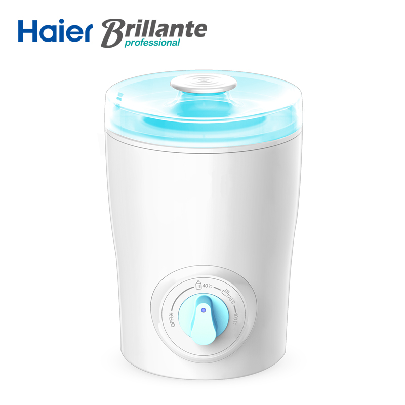 Haier Brillante Baby Bottle Warmer PP Baby Feeding Milk Warmer Baby Bottle Sterilizer Smart Manual Knob constant temperature колодки тормозные hb581b 660 hawk street 5 0 brembo 6 поршней тип j n porsche 911 997 3 8 gt3