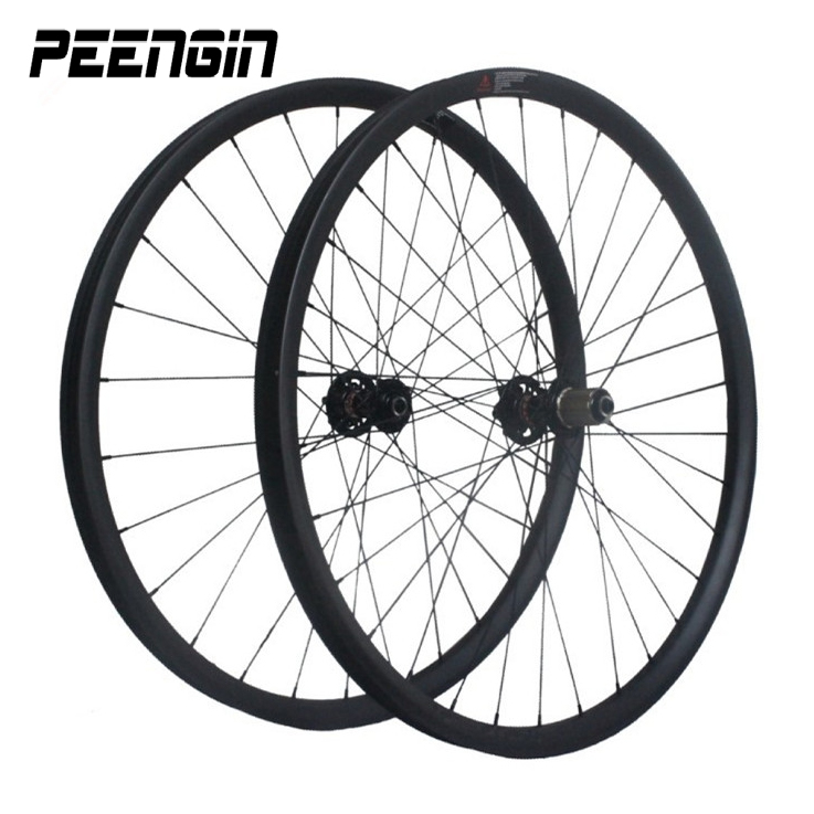 carbon mtb 26 wheelset DH mountain bike 26er descent wheels 40X32mm tubeless aro rim Shim or s ram XX1 cassette body 10-11 speed покрывало циновка don descent b1350004 1 5 1 8