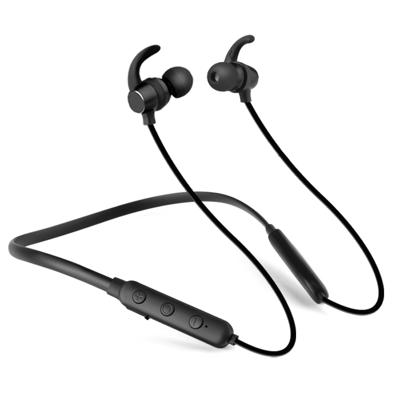 купить bluetooth headphone wireless earphone earbuds with microphone headset mini handfree ear hook headset for iphone Android phone