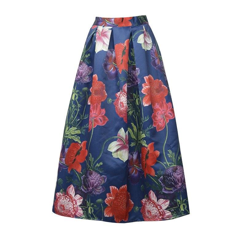 Aliexpress.com : Buy TingYiLi Long Maxi Skirts For Women 50S Style ...