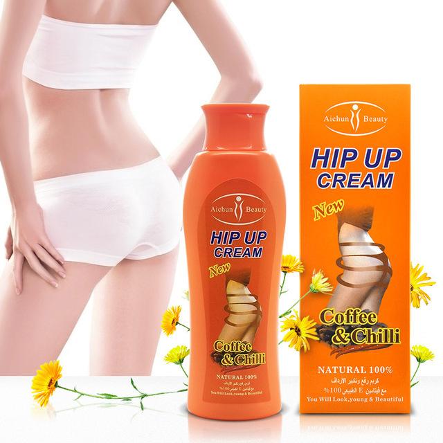 200g de Pimentão & Extrato de Café Hip Lift Creme de Massagem para um Rápido e Maior Alargamento Creme Do Realce Nádegas Up Bumbum Afiada