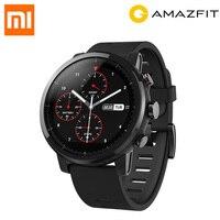 Original Huami Amazfit Stratos Smart Sports Watch 2 5ATM Water Resistant 1 34 2 5D Screen