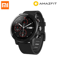 Original Huami Amazfit Stratos Smart Sports Watch 2 5ATM Water Resistant 1 34 2 5D Screen