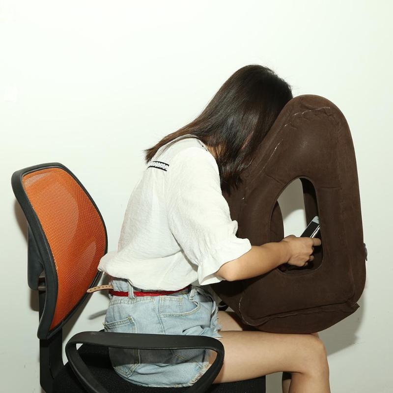 HTB1UleZc6fguuRjSspaq6yXVXXav Inflatable Travel Office Pillow Air Soft Cushion Trip Portable Innovative Body Back Support Foldable Blow Neck Protect Pillow