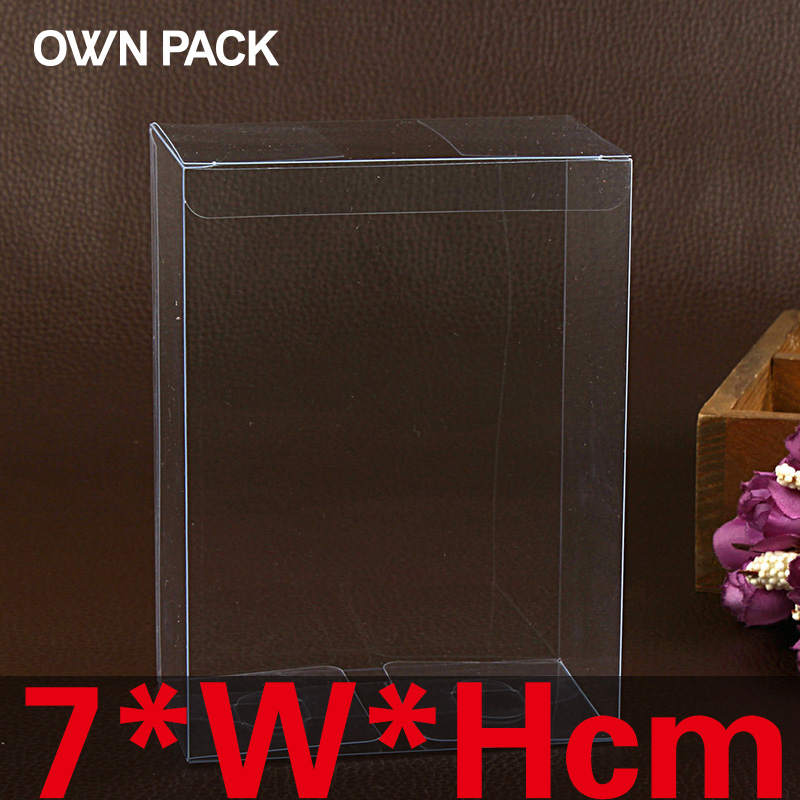 10 Pcs Lot 7wh Clear Box Package Box Gift Packaging Cases Displays Cake Display 100 Guarantee In Gift Bags Wrapping Supplies From Home