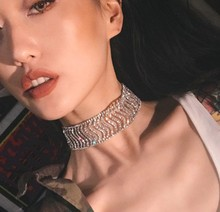 2019 Ethnic Cuban Choker Necklace Collar Women Male Jewelry Multi Layer Aluminum Thick Chain Chunky Necklace Steampunk punk chunky cuban multi layter necklace for women male vintage new design thick long chain necklace steampunk statement jewelry