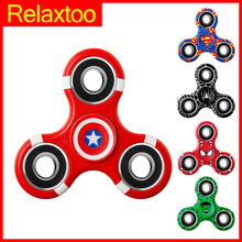 Fidget Puzzle Spinner Hero Spinner Relieve Stress Newest Funny Finger font b Toy b font Spinner
