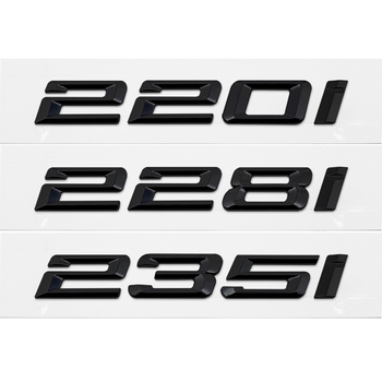 Car Trunk Decoration Stickers Badge for BMW 220I 228I 235I 328I 330I 335I 340I M2 M3 E21 E28 E30 E32 E34 Emblem Auto Accessories image