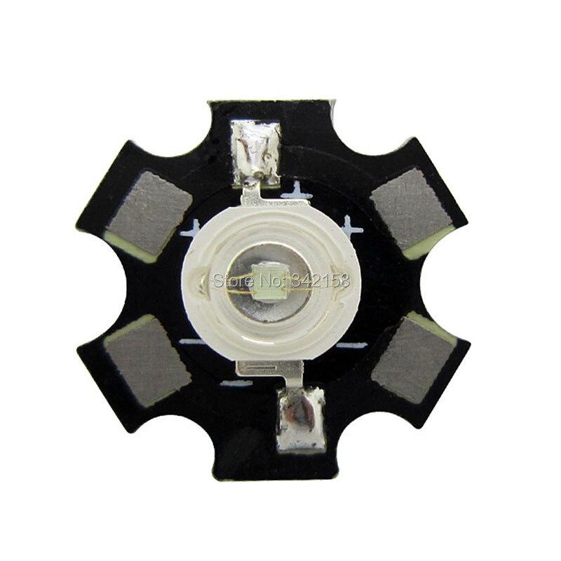 Licht & Beleuchtung 20 Teile/los High Power 3 Watt Epileds Cyan Led Emitter Licht 490nm-495nm 3,2-3,4 V 350ma-600ma Auf 20mm Schwarz Platine Taille Und Sehnen StäRken