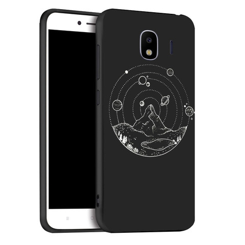 Soft Black Silicone Case For Samsung Galaxy J4 2018 EU Cases TPU  Phone Cover For Samsung J4 Plus 2018 Covers Bumper Fundas Karachi