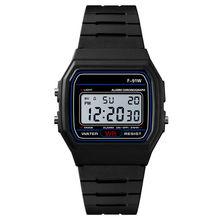 Esportes relógios inteligentes homens de luxo relógio digital analógico militar led relógios de pulso à prova dwaterproof água presente