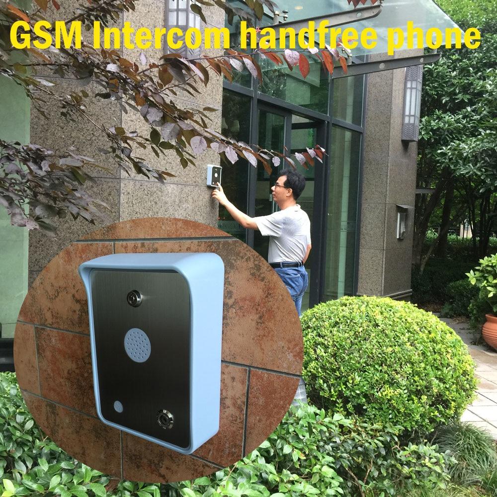 2016 비 증거 무선 GSM 핸즈프리 오디오 인터폰 문 - 보안 및 보호 - 사진 3