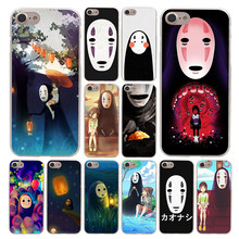 Lavaza Ghibli Miyazaki Anime no rosto Caso de Telefone para Apple iPhone 4 4S 5C 5S SE 6 7 6 S 8 Plus 10 X Xr Xs Max 7 6 Plus Plus(China)